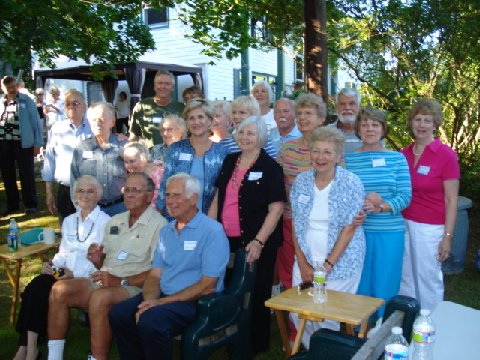 group of older men and women
