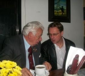 documentary attendees at dinner