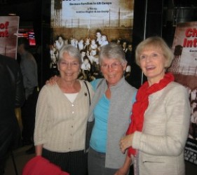 former internees at documentary screening