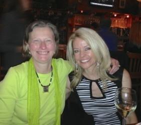 Karen Ebel with Kristina Wagner, documentary film maker