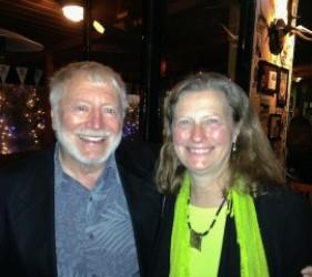Lothar Eiserloh and Karen Ebel, at documentary screening