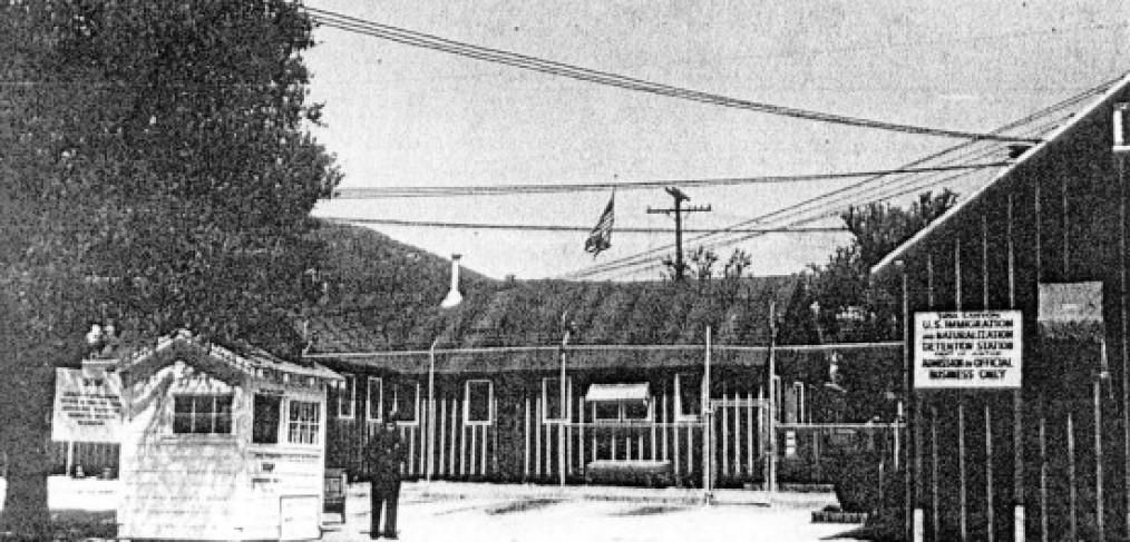 image of buildings, guard