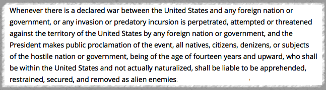 Excerpt AE Act,1798.1