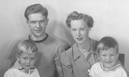parents with 2 small boys