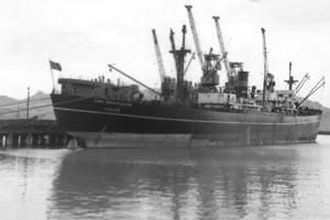 Merchant Marine Vessel World War II