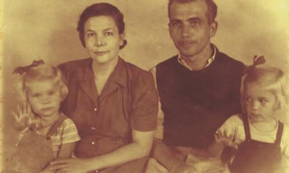 family mug shot, 1943