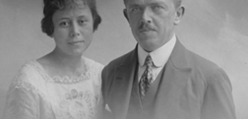 Adolf Hamann & Wife