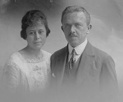 Adolf Hamann & Wife