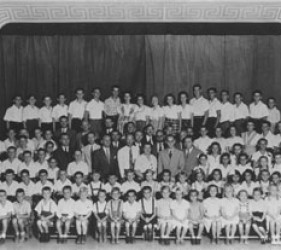 picture of large group of children and young adults