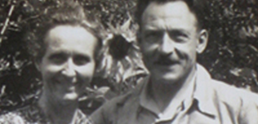 Voester parents, 1942