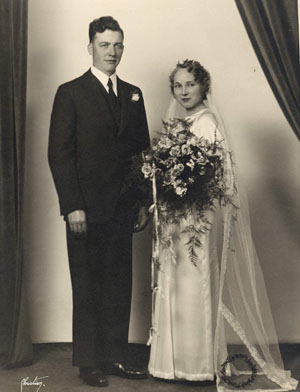 Karl & Elsie- October 1935