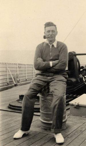 Karl on the Hamburg