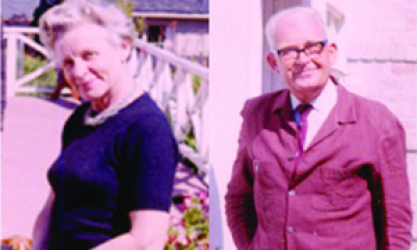 separate photos of Veronica and Ewald