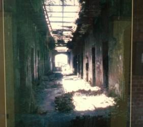 penitentiary corridor ruins