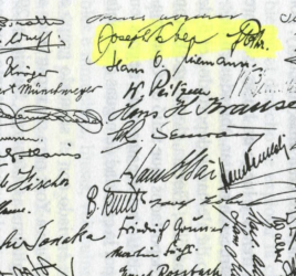 image of signatures