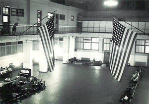 Ellis Island Great Hall National Archives Photo