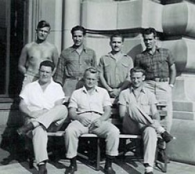 group of young men