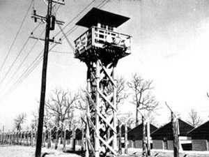 Camp Forrest Guard Tower, 1942. US Air Force Photo