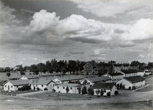 Overview of Ft. Lincoln 1941 John Christgau Collection