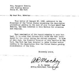 Schmitz letter, 2