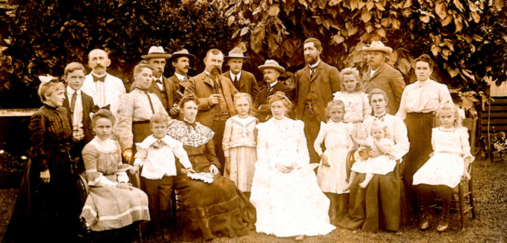 Berg family in 1902