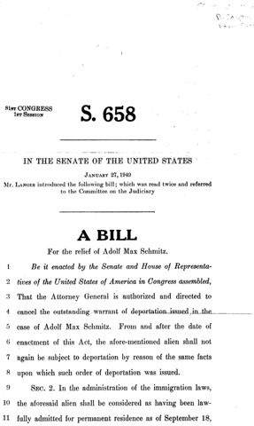S-658-1949-Bill pg 1.