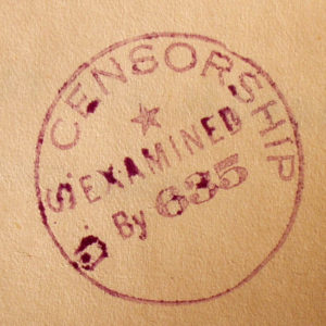 censorship stamp