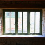 window in one Home of the Good Shepherd facilities