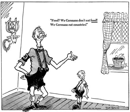Suess WW II cartoon